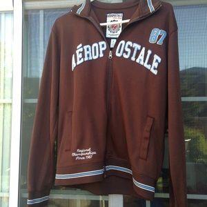 Aeropostale zip up sweater size m